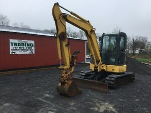 2009 Komatsu Pc50 Mini Excavator W Cab Angle Blade And Thumb Coming In Soon
