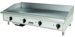 Toastmaster Tmgm48 48 Countertop Gas Griddle Flat Top Grill Nat Or Lp