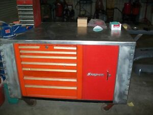 Stainless Tool Box Work Center With Tools Snap On