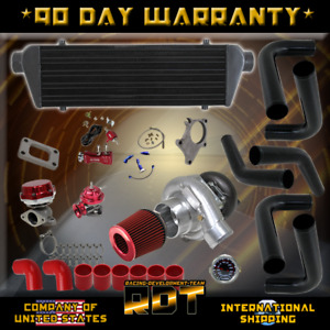 Ungrade 300 Hosepower Super Turbo Kit Mustang Focus Escort Gt V6 3 8l 4 6l 4 0l