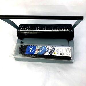 Gbc Combbind C75 Binding System Spiral Binder Extra Spines Excellent Condition