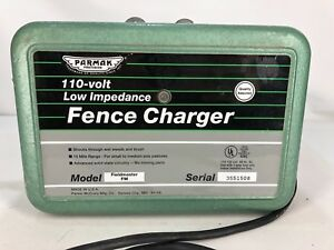 Electric Fence Charger Parmak Precision Fieldmaster Fm 110 volt 15 Mile R