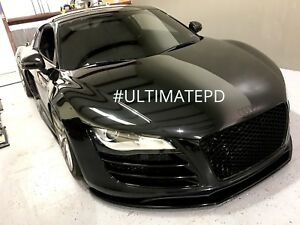 Gloss Black Rs Bumper Front Grill Audi R8 2007 2012 Usa Seller Euro Hex