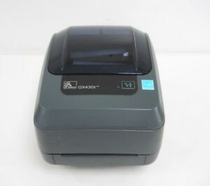 Zebra Gx430t Point Of Sale Thermal Barcode Printer
