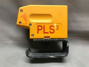 Pacific Laser Systems Pls3 3 Point Red Beam Laser Level W bracket