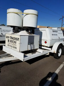 Skytracker Searchlight With Trailer And Generator