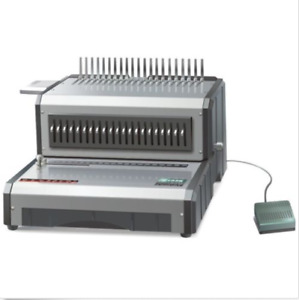 Brand New Electric Plastic Comb Binding Machine Heavy Duty