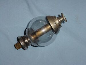 Ornate 1875 Nathan Hit Miss Gas Steam Engine Rod Oiler