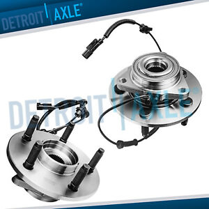 5 Lugs Front Wheel Bearings And Hub For 2006 2008 Dodge Ram 1500 W Abs 2wd 4wd