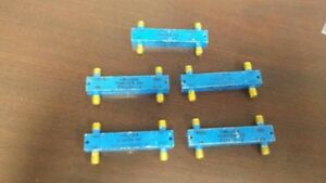 Anaren 1a0625 10 Hybrid Couplers 10db Coupling Lot Of 5