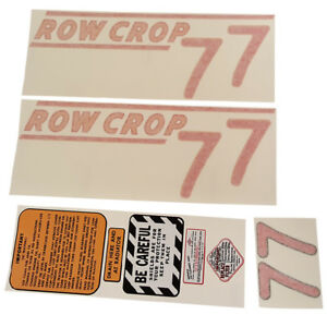 New Decal Set For Oliver 77 W diesel Eng 77 W gas Eng 77 5715 1009