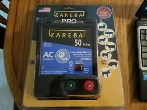 Zareba Ac Powered Low Impedance 50 Mile Range Fence Controller Charger Eac50m z