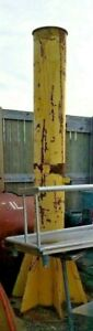 11 Tall 1 Ton Free Standing Jib Crane Column Only 12 Wide 26 Base