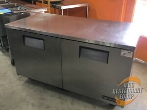 True Tuc 60 60 5 2 door Under Counter Refrigerator