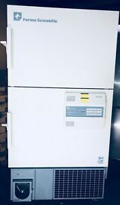 Thermo Forma 8523 Ultra Low Lab Freezer Double Door 220v With Racks 80 86
