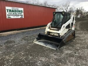 2007 Bobcat T190 Tracked Skid Steer Loader W Cab
