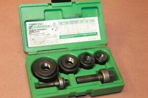 Greenlee Slug Buster Knockout Punch Set 72355b