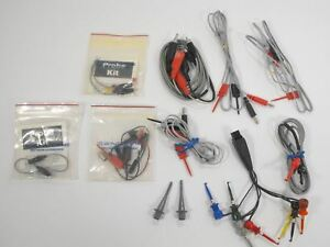 Sencore Test Equipment Probe Kit Test Lead Lot