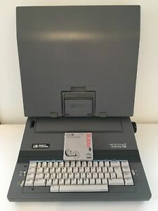 Smith Corona Electric Typewriter Spell Write Dictionary Deville 125 Model 5p