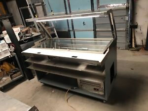 Commercial Food Preparation Refrigerated Unit Sub cp 60 with Led Hood Swd700