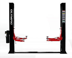 Commercial Quality 9 000 Lb 2 Post Floor Plate Car Truck Auto Vehicle Lift