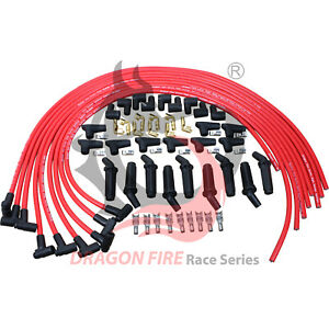 Dragon Fire Racing Performance Universal Cut To Length Spark Plug Wire Set 10 5m