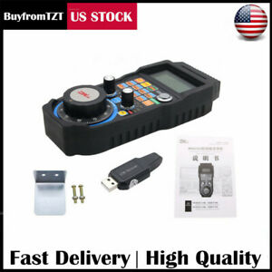 Cnc Mach3 Wireless Electronic Handwheel 4 axis Manual Controller Usb Handle Us