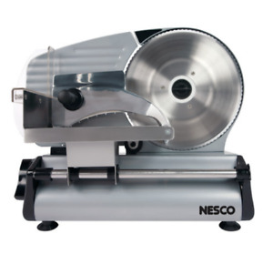 Electric Meat Slicer Deli Cutter Machine Slicer Food Cheese Bread Veggie Nesco