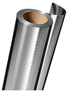 Radiant Barrier Insulation Aluminum Film 125 Sold In store By The Foot
