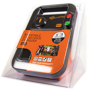 Solar Fence Charger S10 0 1 Joules