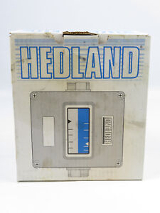 New Hedland Flow Switch Meter H605b 005 f1 Brass 1 2 Fnpt Variable Area 0 5 Gpm
