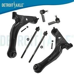 Front Lower Control Arm Tie Rod Kit For 2008 2009 Mercury Mariner Ford Escape