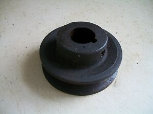 Drive Pulley For Output Shaft From Wisconsin Air Cooled Engine Model Akn