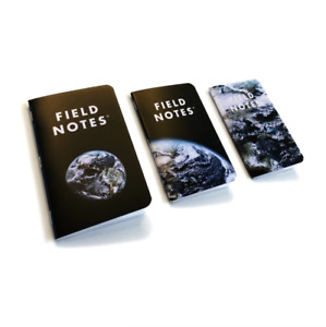 Field Notes Earth Sealed 3 Pack Notebooks Exclusive Field Museum Limited Edition
