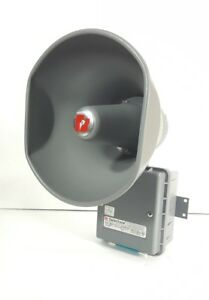 Federal Signal Selectone Siren 300gcx 120 Gray Loud Speaker