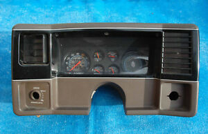 1978 1987 Chevrolet Monte Carlo Brown Dash Instrument Gauge Cluster Panel