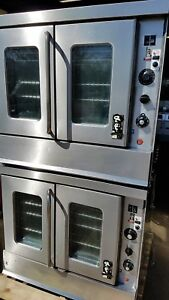 Montague bakery Depth Double Stack Natural Gas Convection Ovens
