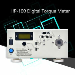 Hp 100 Digital Torque Meter Screw Driver wrench Measure tester