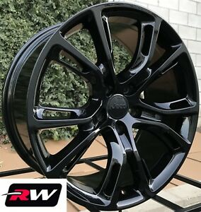 17 Inch Oe Replica Spider Monkey Wheels Gloss Black Rims For Jeep Cherokee 14 19