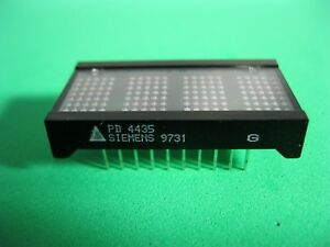 6x Dot Matrix Alphanumeric Programmable Displays 4 character 5 X 7 Pd4435