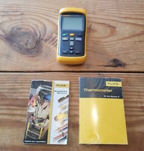 Fluke 52 Ii Digital Temperature Meter With Dual Input Thermometer
