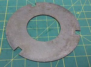 Crown Forklift Part 104357 Outer Plate Qty 1 61394