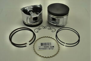 Pistons Rings Set Of 4 Fits Nissan 240sx 1991 1998 Altima 97 Ry6661 Std