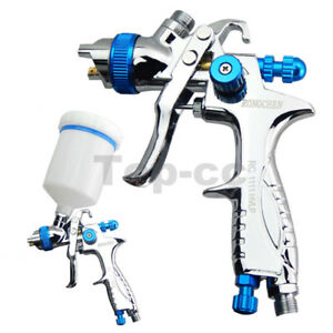 Gravity Feed Hvlp Spray Gun Auto Car Paint 1 3mm Nozzle 600ml Pot Repair Kit