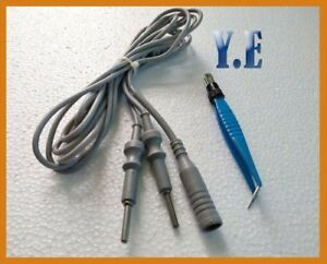 Bipolar Cable Foreceps With Cable For Skin Cautery Surgical Equipment Accessory