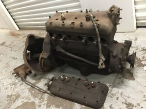 Ford Model A 4 Cylinder Engine Motor Transmission Shipping Included