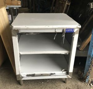 Commercial Stainless Steel 24 x 30 Storage Dish Cabinet Nsf Approved