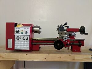 Sieg C3 7x14 Mini Lathe used