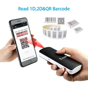 Eyoyo Buletooth Barcode Reader Scanner 2d 1d qr 2 In 1 Protable For Ios Android