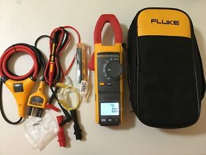 New other Fluke 381 True rms Ac dc Clamp Meter With Iflex Nice 224193